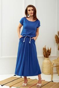 Sukienka HAVANA DESIGN z krótkim rękawem