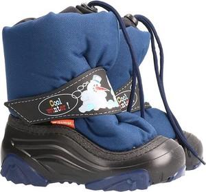 Buty dziecięce zimowe Demar z wełny
