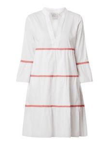 Sukienka Emily van den Bergh w stylu casual z dekoltem w kształcie litery v z długim rękawem