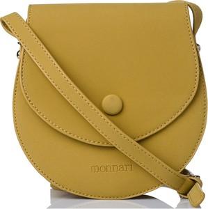 Żółta torebka Monnari na ramię średnia