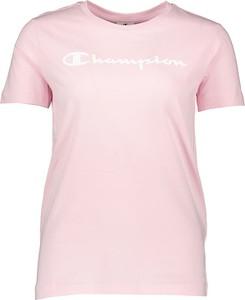 Różowa bluzka Champion