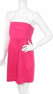 Różowa sukienka Vittoria Crocetta gorsetowa bez rękawów
