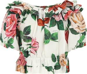 Bluzka dziecięca Dolce & Gabbana z bawełny