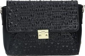 Czarna torebka leganza.pl na ramię