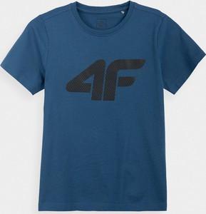 Koszulka dziecięca 4F z bawełny dla chłopców