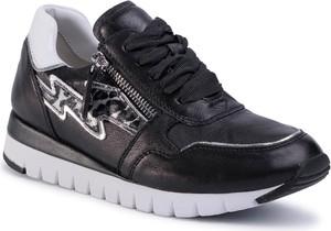 Czarne buty sportowe eobuwie.pl z płaską podeszwą