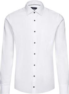 Koszula Pierre Cardin z długim rękawem z klasycznym kołnierzykiem