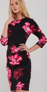 Sukienka Renee z okrągłym dekoltem midi w stylu casual