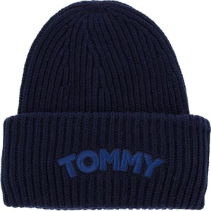 Czapka Tommy Hilfiger z wełny