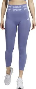 Niebieskie spodnie Adidas