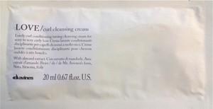 Davines Love Curl Cleansing Cream | Oczyszczający krem do loków 20ml - Wysyłka w 24H!