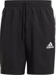 Czarne spodenki Adidas