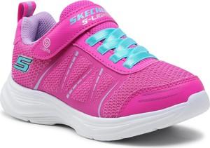 Buty sportowe dziecięce Skechers na rzepy dla dziewczynek