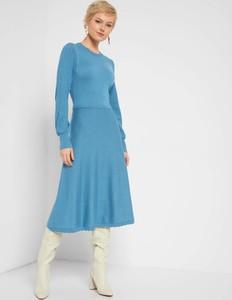 Sukienka ORSAY midi z okrągłym dekoltem