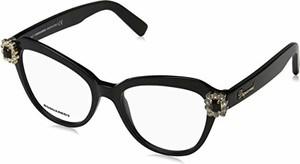 Czarne okulary damskie Dsquared2