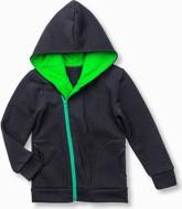 Czarna bluza dziecięca ombre clothing