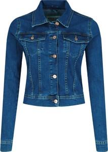 Kurtka Guess krótka z jeansu