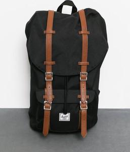 Czarny plecak męski Herschel Supply Co. ze skóry