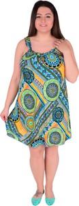 Sukienka Dedra w stylu casual mini na ramiączkach