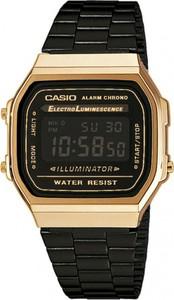 Zegarek CASIO - Vintage A168WEGB-1BEF Black/Gold