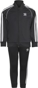 Czarny dres dziecięcy Adidas