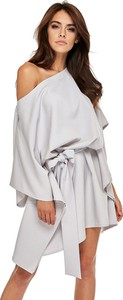 Sukienka Ptakmoda.com z dekoltem w łódkę