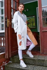 Płaszcz Naoko w stylu casual