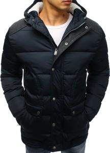Granatowa kurtka Dstreet w stylu casual