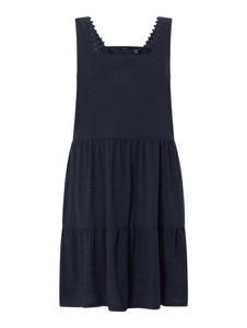 Granatowa sukienka Vero Moda mini w stylu casual