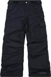 Czarne spodnie sportowe Columbia