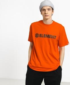 Różowy t-shirt Element z krótkim rękawem