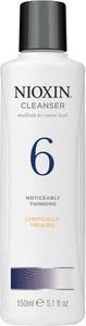 Nioxin System 6 - szampon przeciw znacznemu wypadaniu włosów grubych, zniszczonych 300ml - Wysyłka w 24H!
