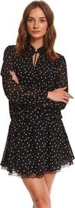 Sukienka Top Secret mini koszulowa w stylu casual