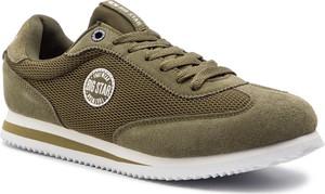 Buty sportowe Big Star sznurowane z zamszu w młodzieżowym stylu