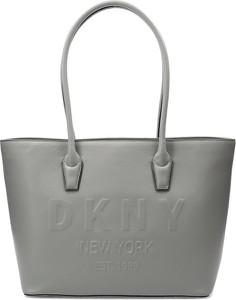Torebka DKNY na ramię duża ze skóry