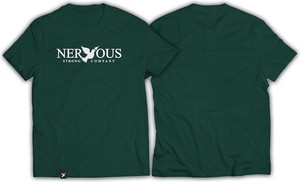 T-shirt Nervous z bawełny