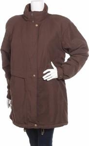 Brązowa kurtka Just B długa
