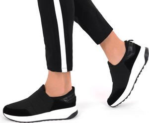 Czarne buty sportowe Modoline