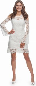 Sukienka B&b Studio mini z długim rękawem