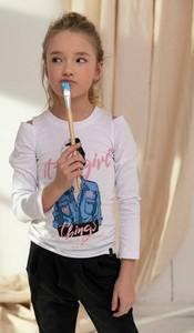 Bluzka dziecięca All For Kids z długim rękawem