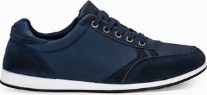 Buty sportowe Edoti w młodzieżowym stylu sznurowane