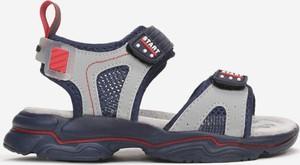 Buty dziecięce letnie born2be dla chłopców na rzepy