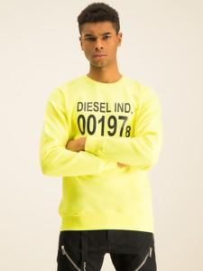 Żółta bluza Diesel