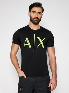 T-shirt Armani Exchange w młodzieżowym stylu z bawełny