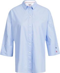 Koszula Tommy Jeans z kołnierzykiem