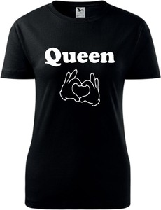 T-shirt TopKoszulki.pl z okrągłym dekoltem z krótkim rękawem z bawełny