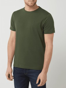 T-shirt Lerros z krótkim rękawem w stylu casual