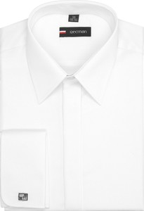 Koszula recman z bawełny z długim rękawem