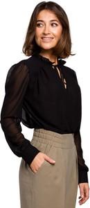 Bluzka Style z długim rękawem z szyfonu