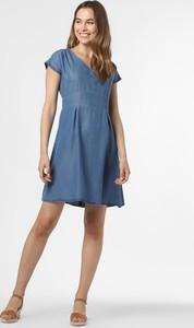 Niebieska sukienka More & More mini